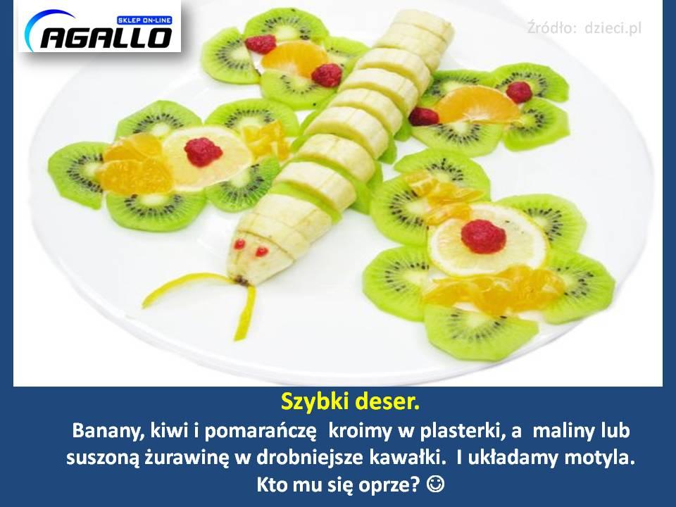 szybki deser owocowy dla dzieci 1